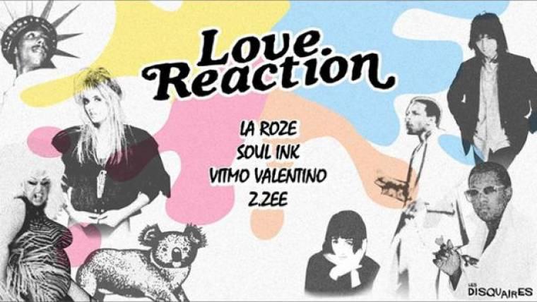 Love Reaction X Les Disquaires