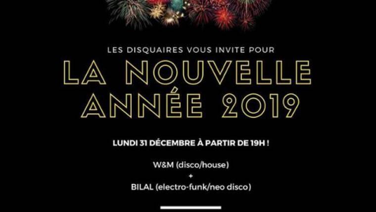 Le Réveillon du Nouvel An : W&M X Bilal