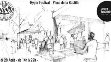 Festival Musique en plein air du Charlie et des Disquaires